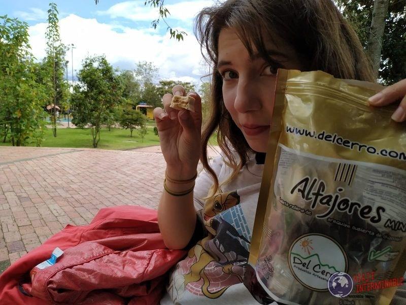 Alfajores en Bogota Colombia