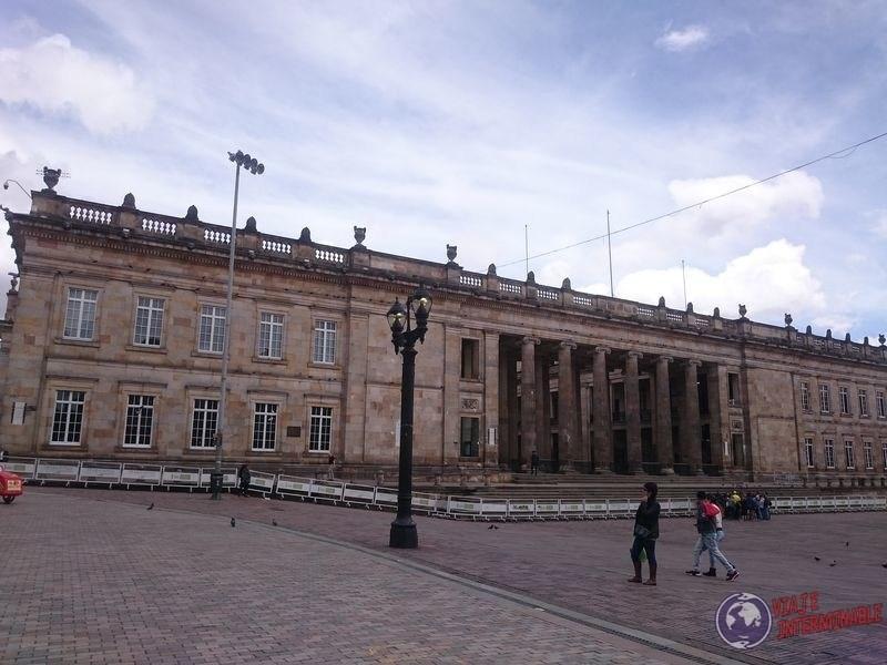 Capitolio Bogota Colombia