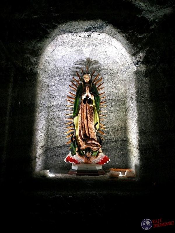 Catedral de sal Zipaquira Colombia virgen