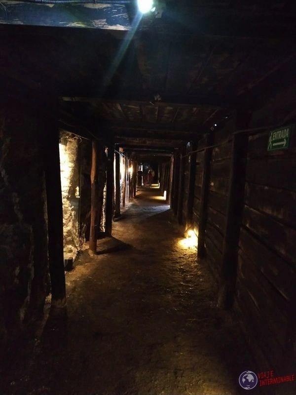 Catedral de sal Zipaquira Colombia tuneles
