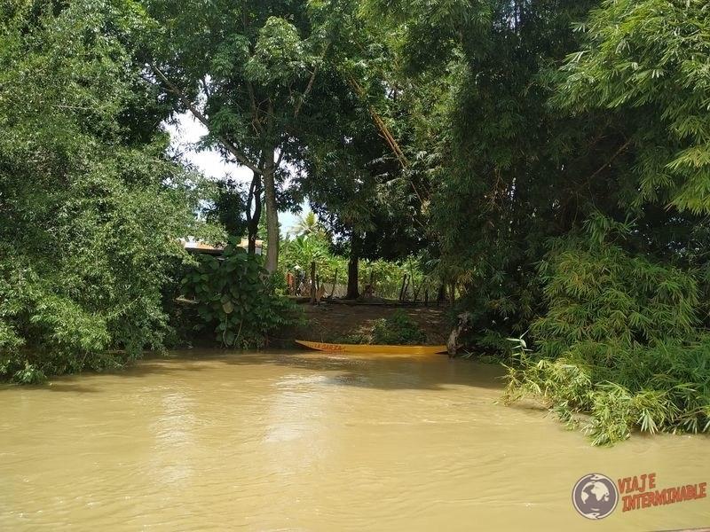 Entradas de bote en Jaraquiel Colombia