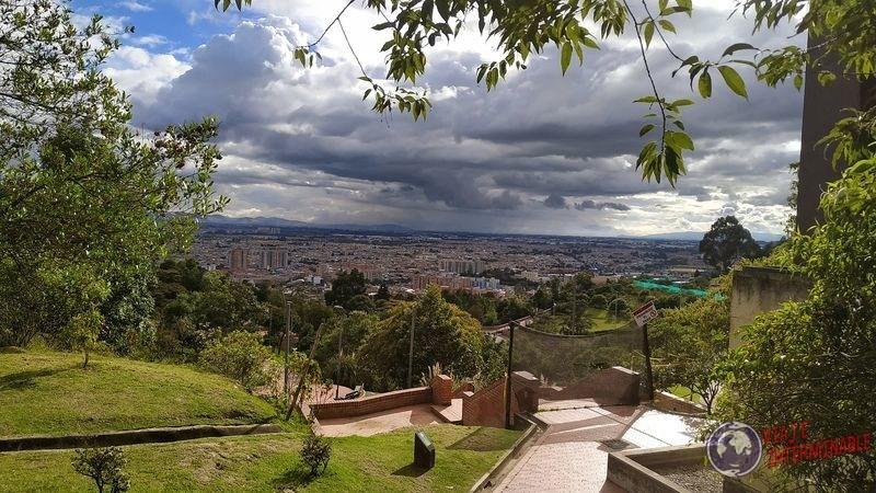 Mirador de los nevados desde otro lado Bogota