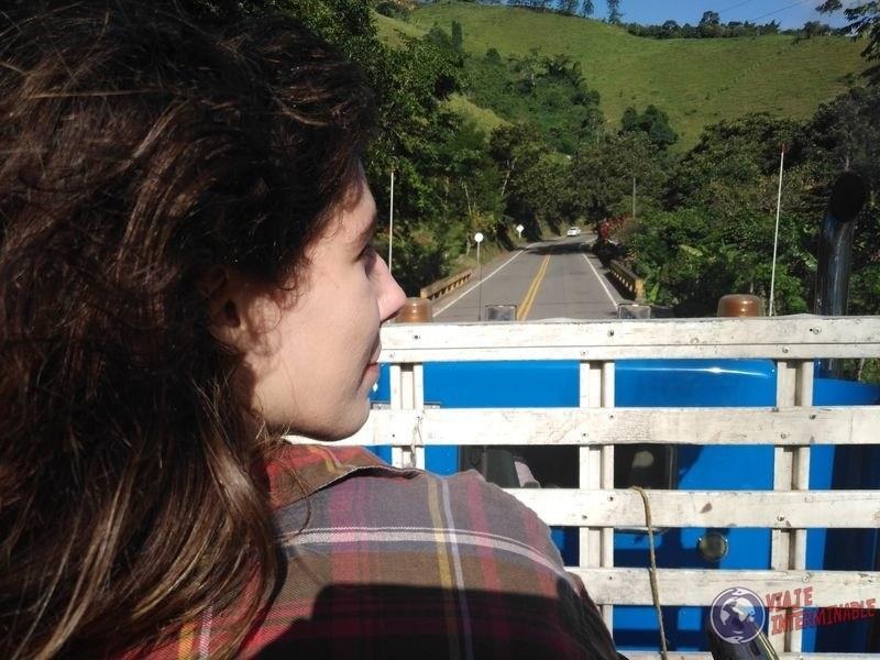 Paisaje en camion hacia Chigorodo