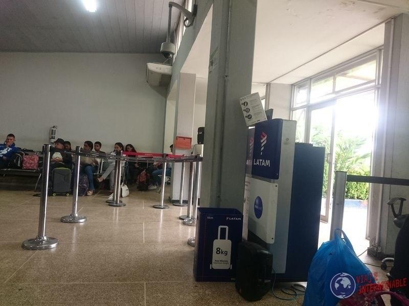 Sala de embarque aeropuerto Leticia
