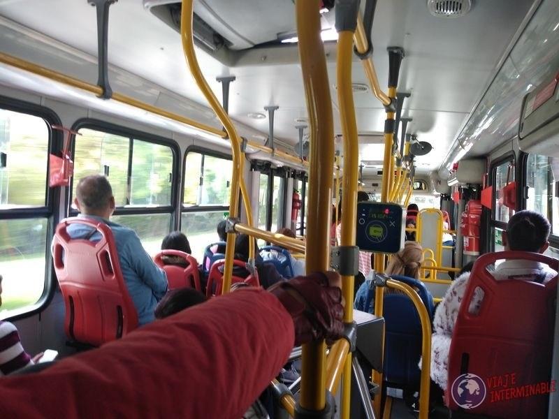 Transmilenio bus Bogota colombia