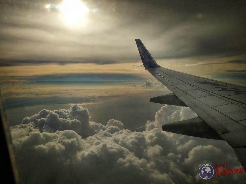 Avión hacia Panamá