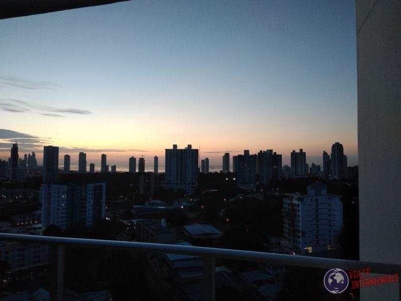 Ciudad de Panama Atardecer