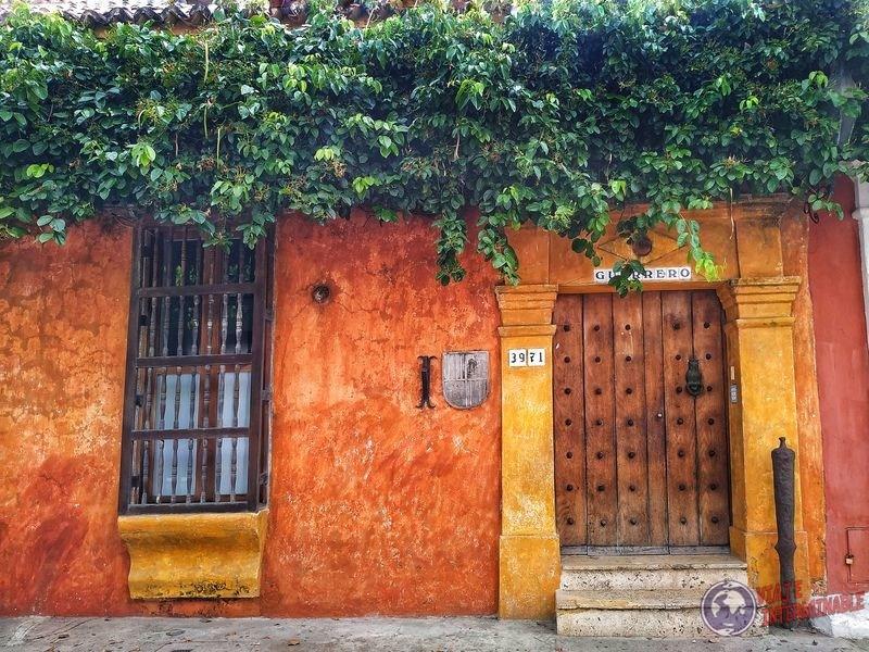 Fachadas en Cartagena Colombia