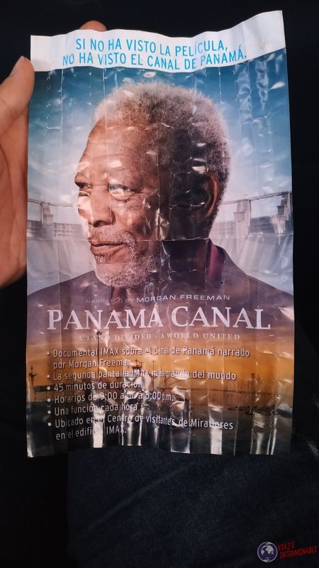 Folleto Morgan Freeman Canal de Panama