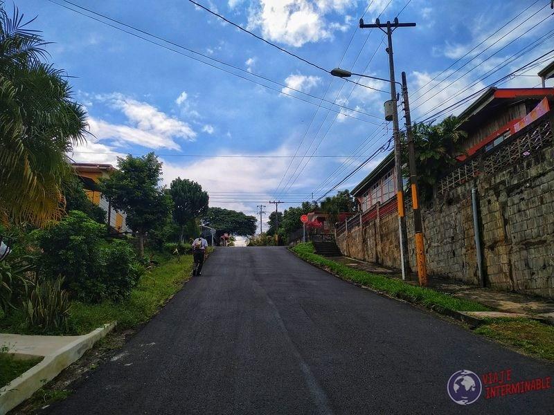 Camino a Naranjo de Alajuela Costa Rica