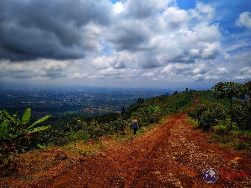 Cerro espíritu santo vista costa rica