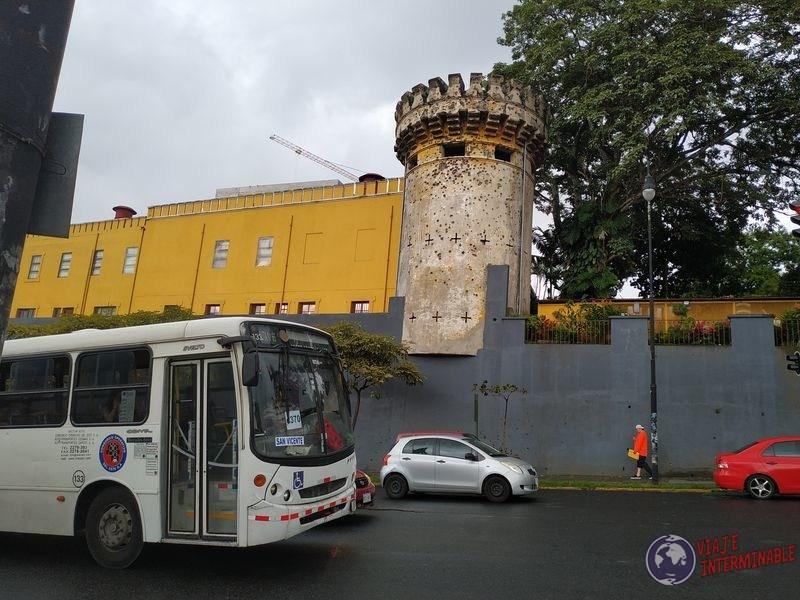 Edificio correos torre baleada costa rica San jose