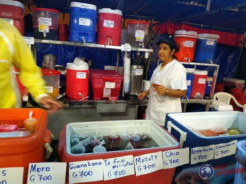 Fresco jugo Costa Rica