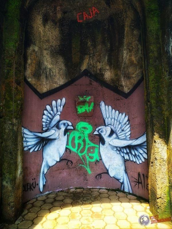 Grafiti cerro espíritu santo costa rica