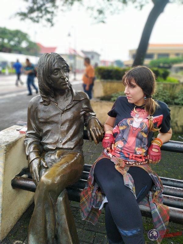 Lennon en San José costa rica