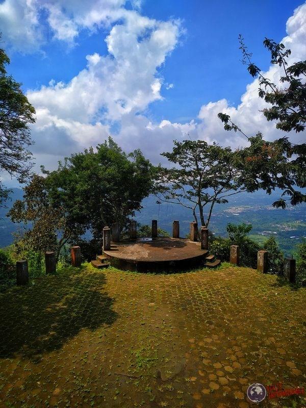 Mirador cerro espíritu santo costa rica