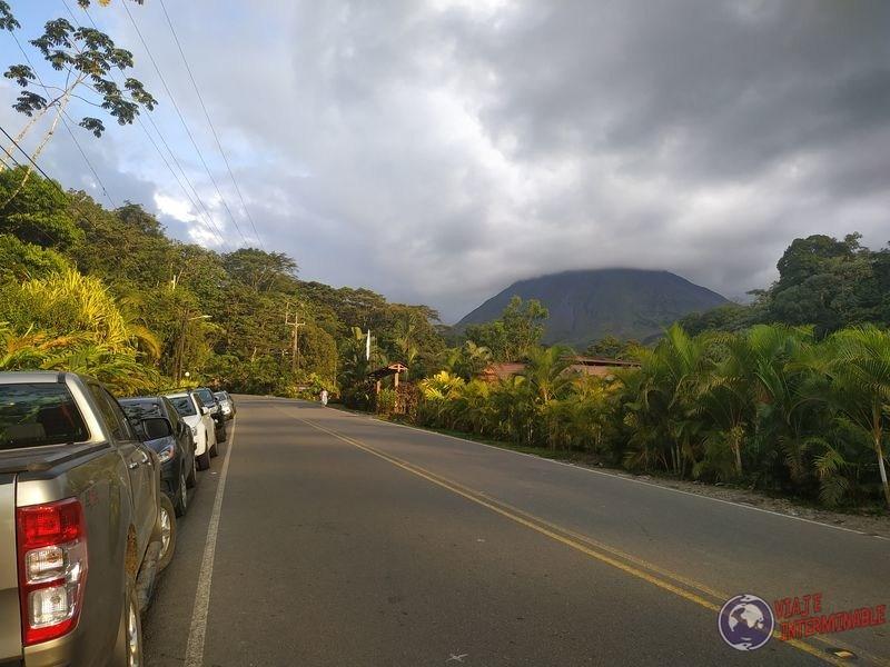 Volcan arenal y ruta Costa Rica