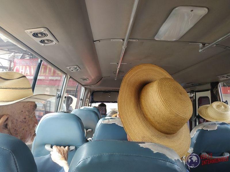 bus hacia cañitas pueblo panama