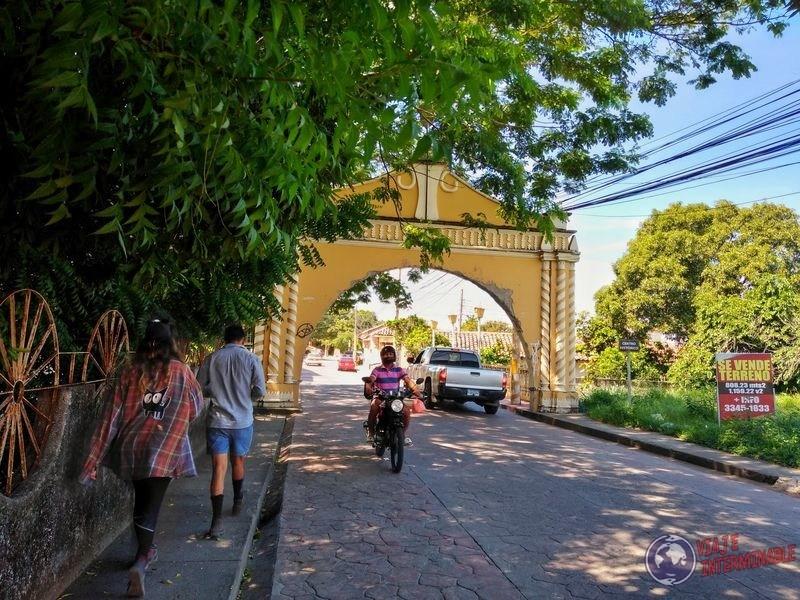 Arco entrada Choluteca Honduras