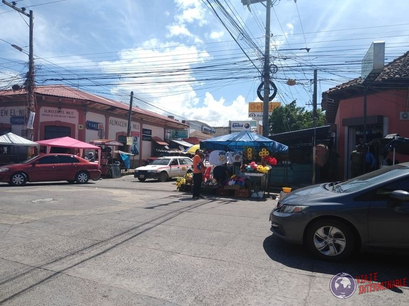 Calles militares Choluteca Honduras