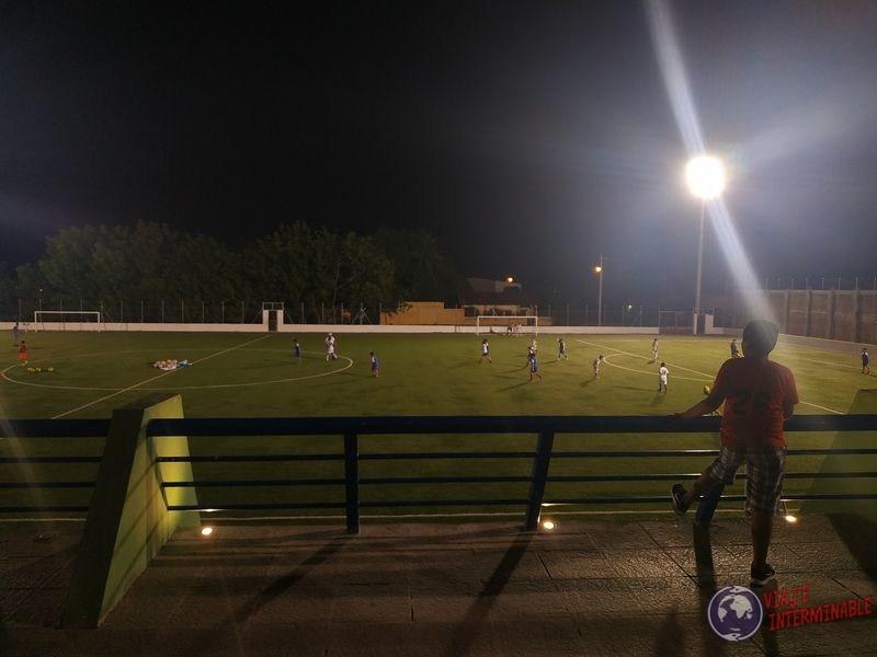 Cancha partido futbol Choluteca Honduras