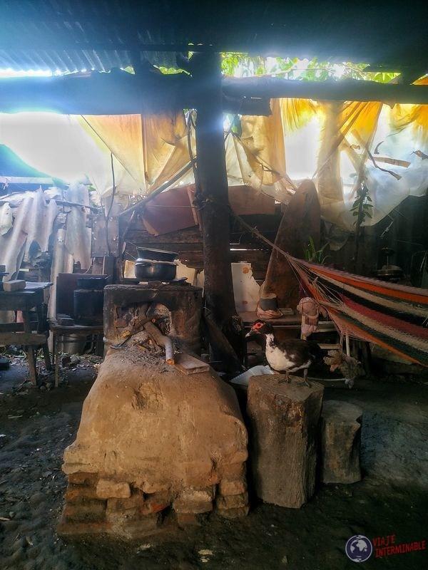 Cocina a leña Honduras Choluteca