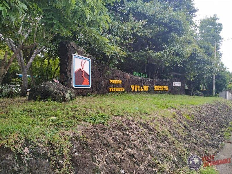 Entrada Parque Volcan Masaya Nicaragua