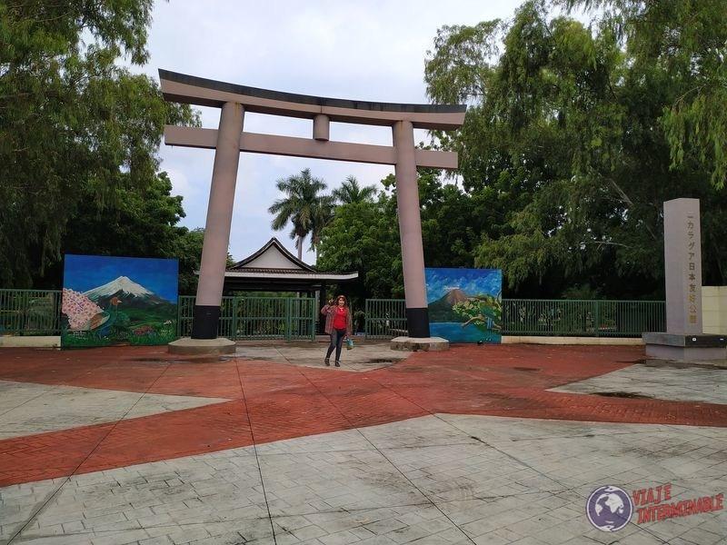 Jardin japones Managua Nicaragua