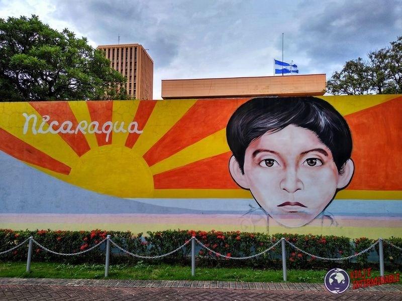 Mural Nicaragua Managua