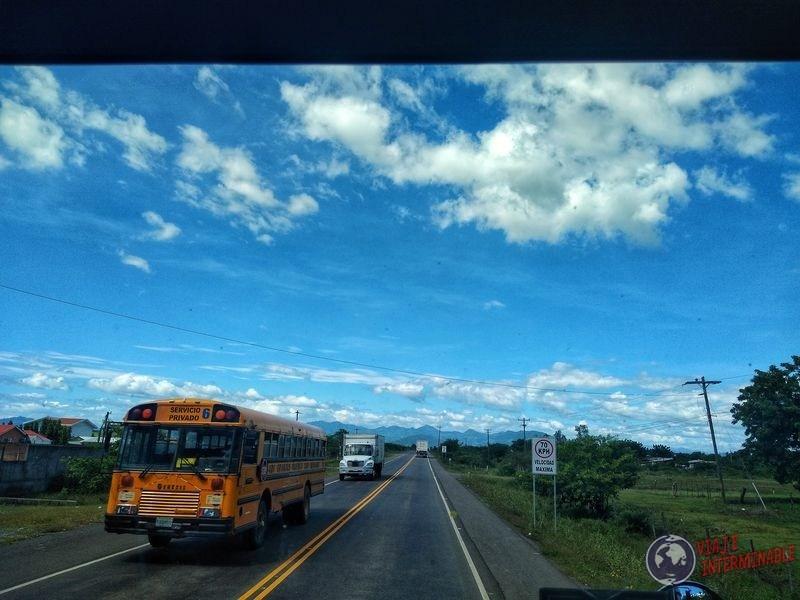 Ruta a Choluteca Honduras