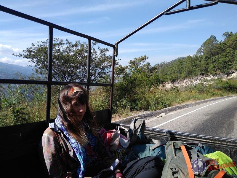 A dedo Guatemala Autostop
