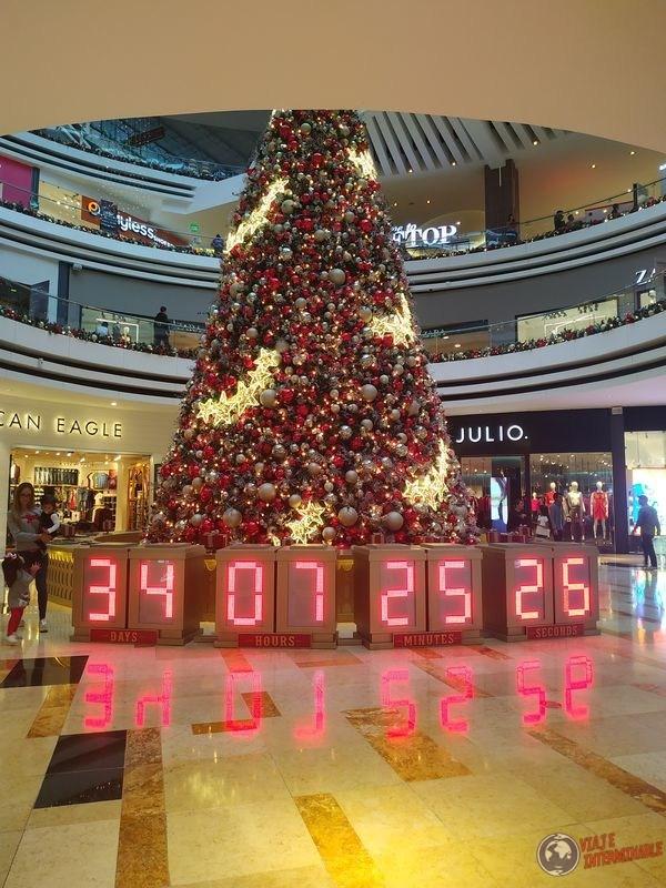 Arbol de navidad Oakland Mall Guatemala