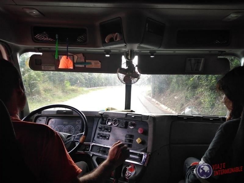Autostop A Dedo Jalon Guatemala Camion
