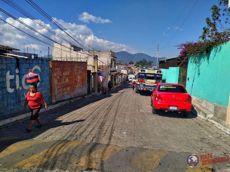 Calles de Santo Tomas de Milpas Altas