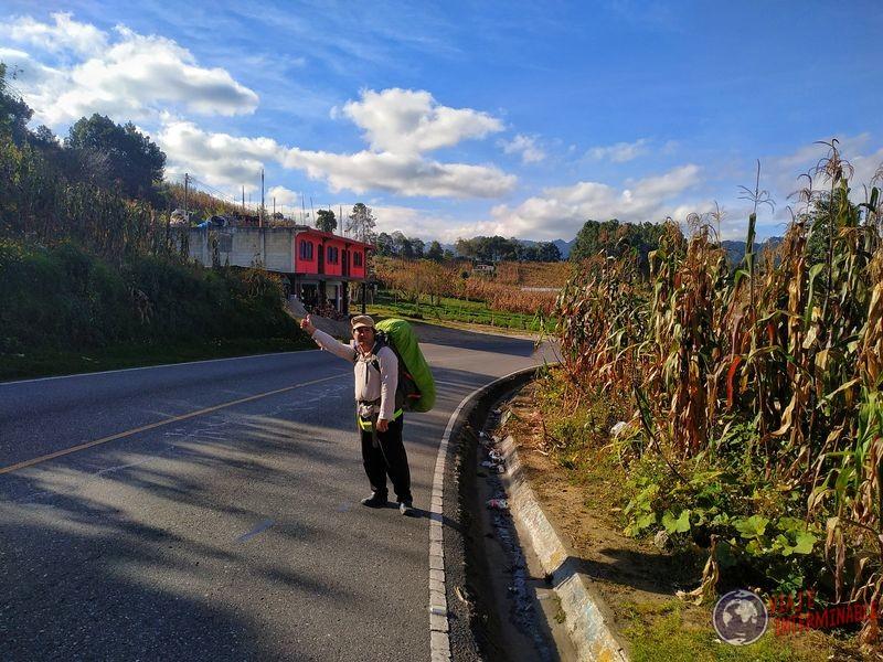 Camino a Coban guatemala