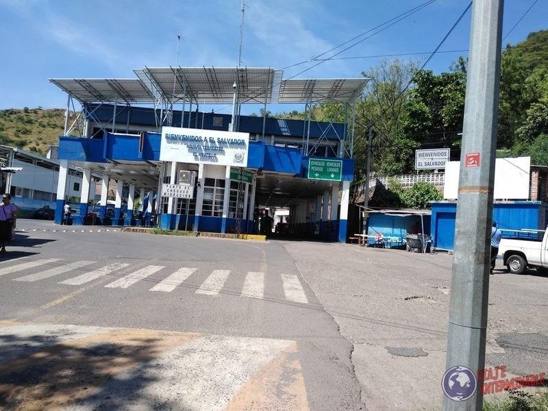 Frontera de El Salvador
