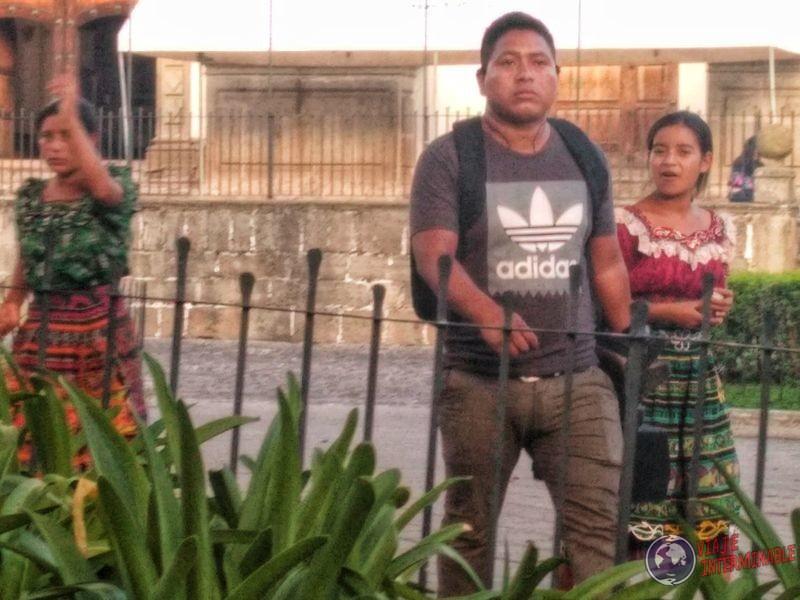 Indígenas en Antigua Guatemala