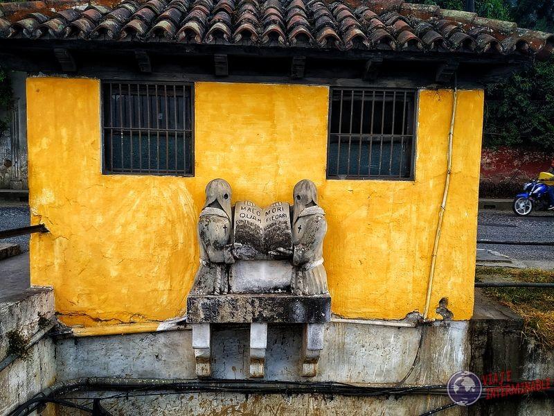 Judíos Nazarenos estatuas Antigua Guatemala