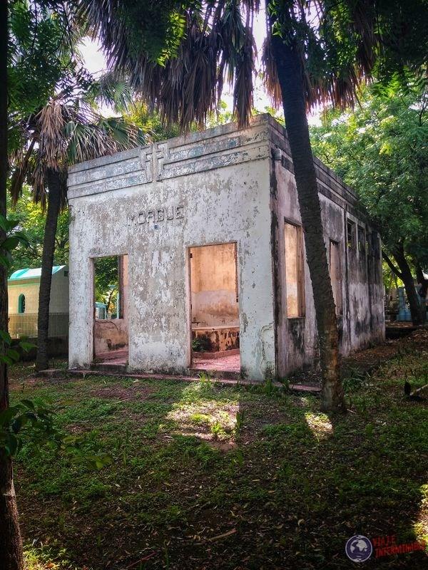Morgue cementerio San Miguel El Salvador
