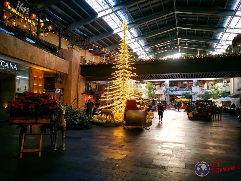 Navidad en mall Ciudad de Guatemala
