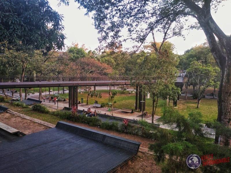 Plaza pasarelas San Salvador El Salvador