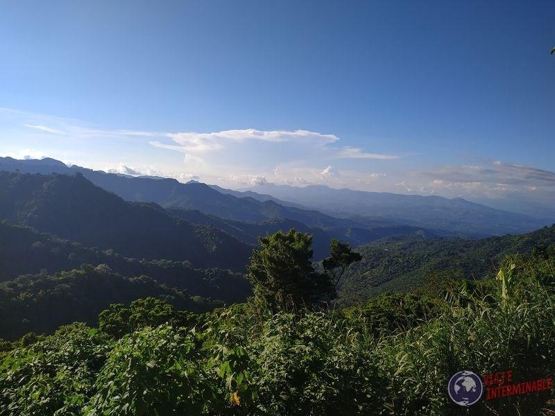 Ruta de las Flores vista de Guatemala