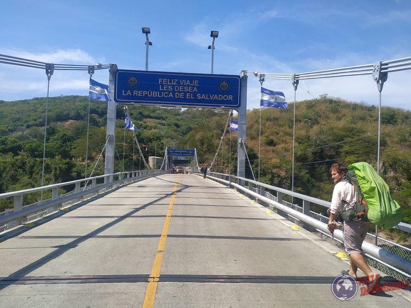 Salida de El Salvador Entrada Guatemala Rio Paz