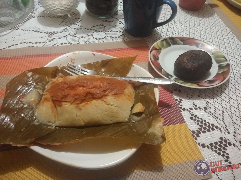 Tamal Rellenito Guatemala