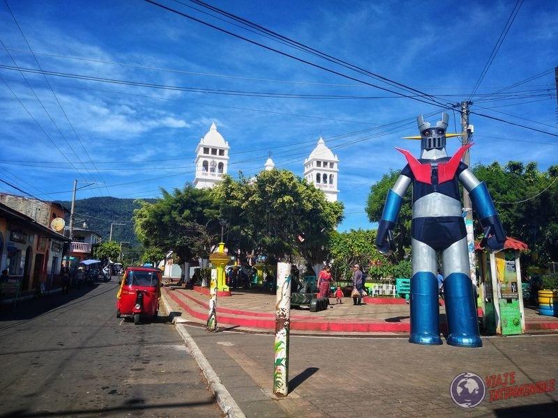 Transformer en Juayua El Salvador