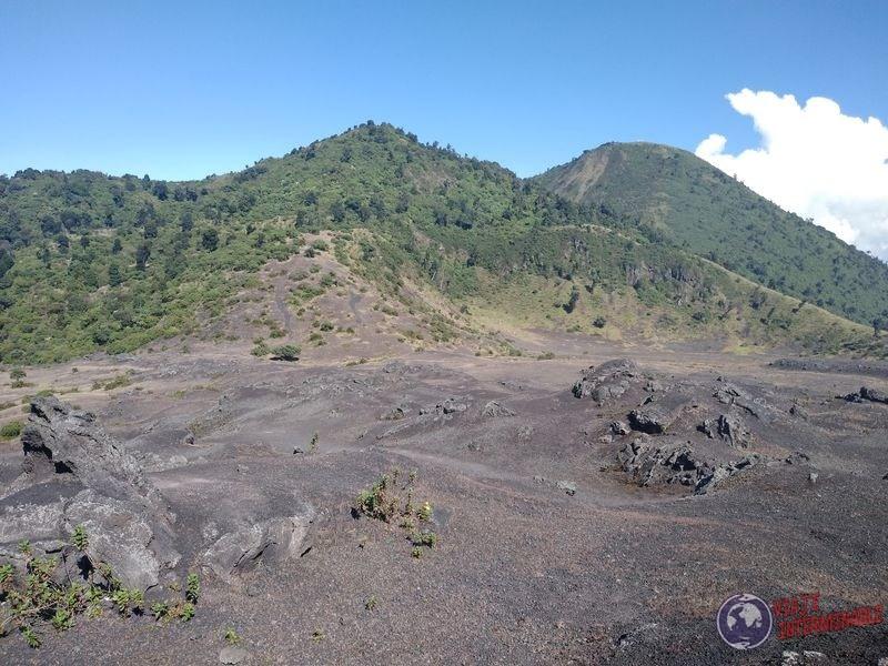 Volcan Pacaya restos volcanicos