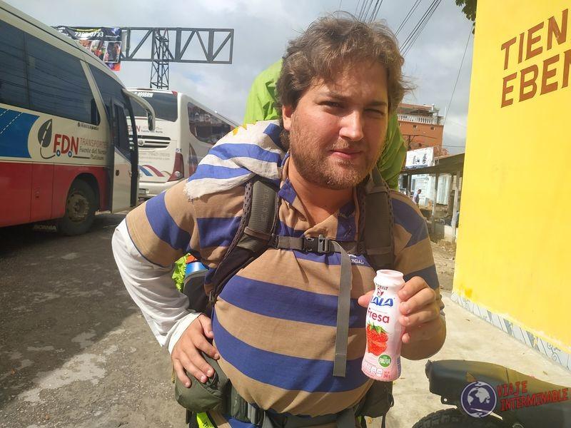 Wa mochilero uruguayo frontera guatemala belice