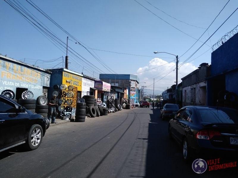 Zona 8 Guatemala Zona talleres mecanicos