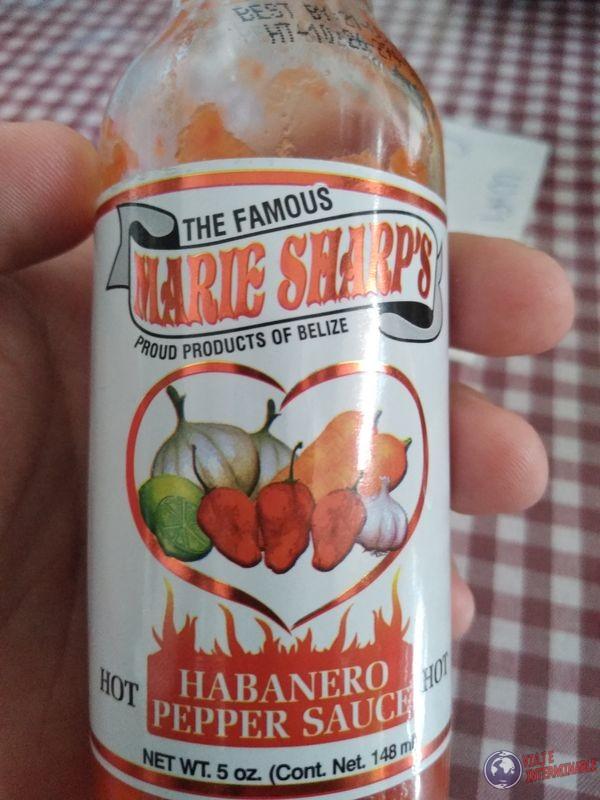 salsa picante marie sharps belice