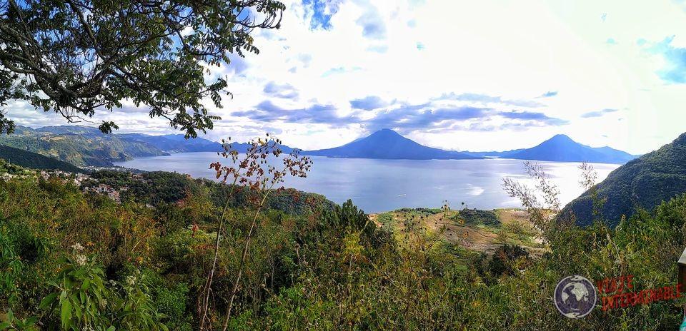 volcanes Lago Atitlán Panorámica Guatemala